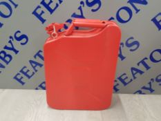 20L JERRY CAN IN RED