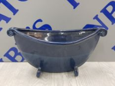 HANDMADE WINTON POTTERY CONSOLE BOWL BY MARG HALL
