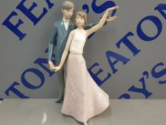 NAO BY LLADRO FIGURE OF A DANCING COUPLE