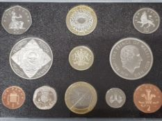 UK 2008 EXECUTIVE YEAR SET COMPLETE 11 COINS IN CASE OF ISSUE WITH CERTIFICATE