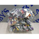 3 KG LARGE COLLECTIONS OF LEGO AND MEGA BLOCKS BUILDING CONSTRUCTION BLOCKS