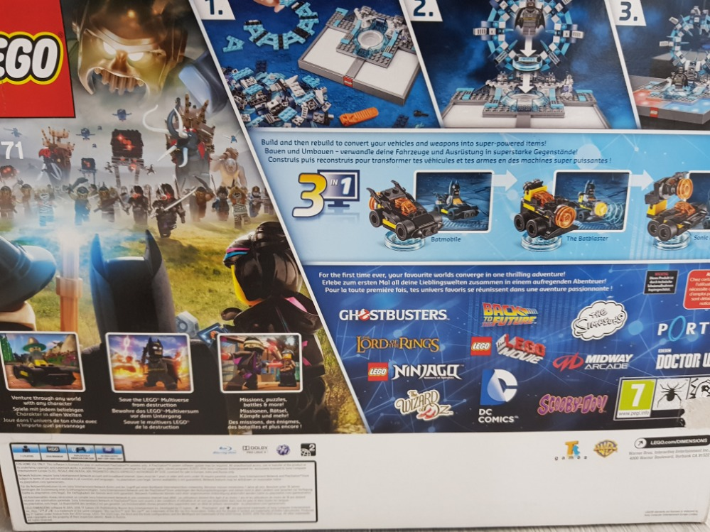 PS4 LEGO DIMENSIONS STARTER PACK 71171 - Image 3 of 3