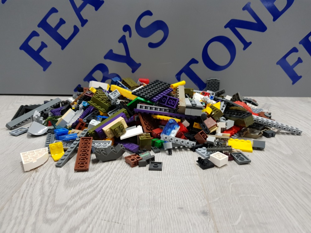 1 KG COLLECTION OF LEGO AND MEGA BLOCKS BUILDING CONSTRUCTION SET - Image 4 of 4