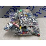 4 KG LARGE COLLECTIONS OF LEGO AND MEGA BLOCKS BUILDING CONSTRUCTION BLOCKS