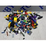 1 KG OF LEGO AND MEGA BLOCKS BUILDING CONSTRUCTION SETS