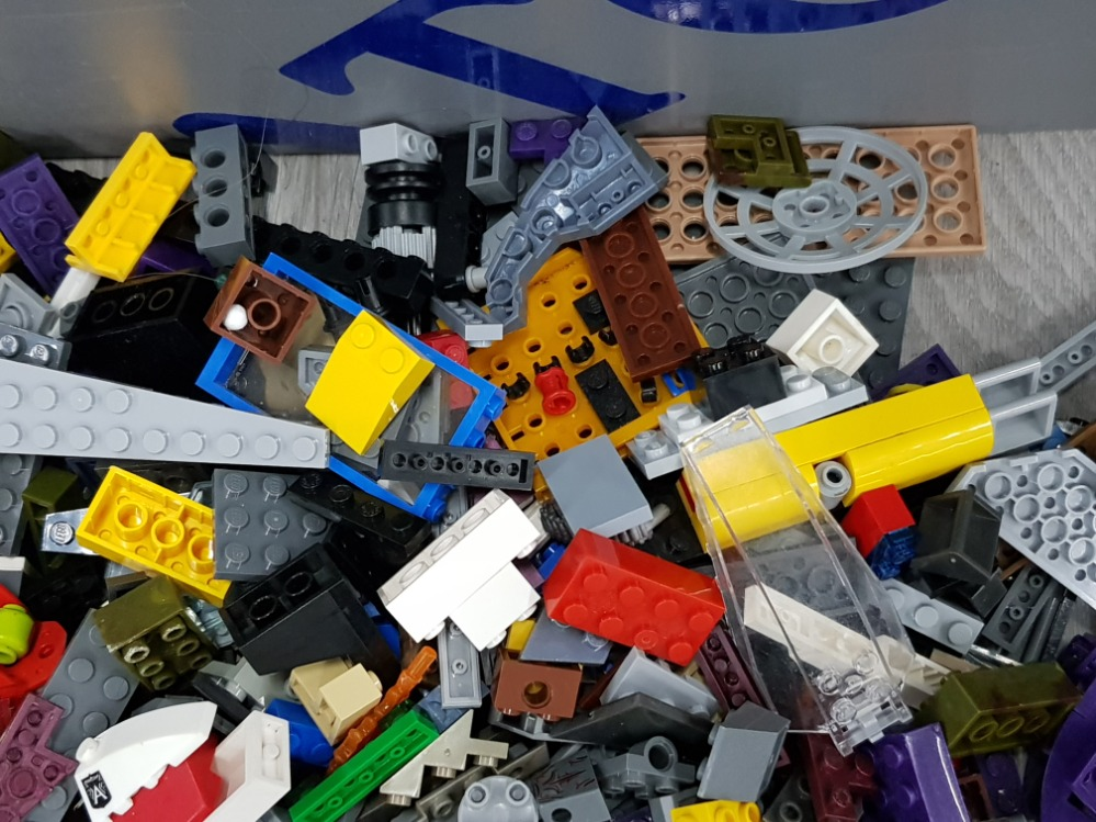 1 KG OF LEGO AND MEGA BLOCKS BUILDING CONSTRUCTION SETS - Image 3 of 3