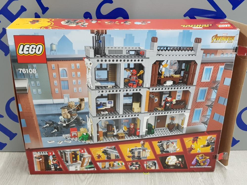 LEGO MARVEL SUPER HEROES SANCTUM SANCTORUM SHOWDOWN 76108 - Image 2 of 3