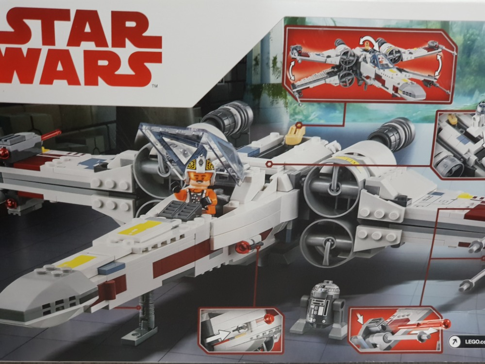 LEGO STAR WARS X WING STARFIGHTER 75218 DISNEY - Image 3 of 3