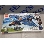 LEGO MARVEL AVENGERS ULTIMATE QUINJET 76126 USED