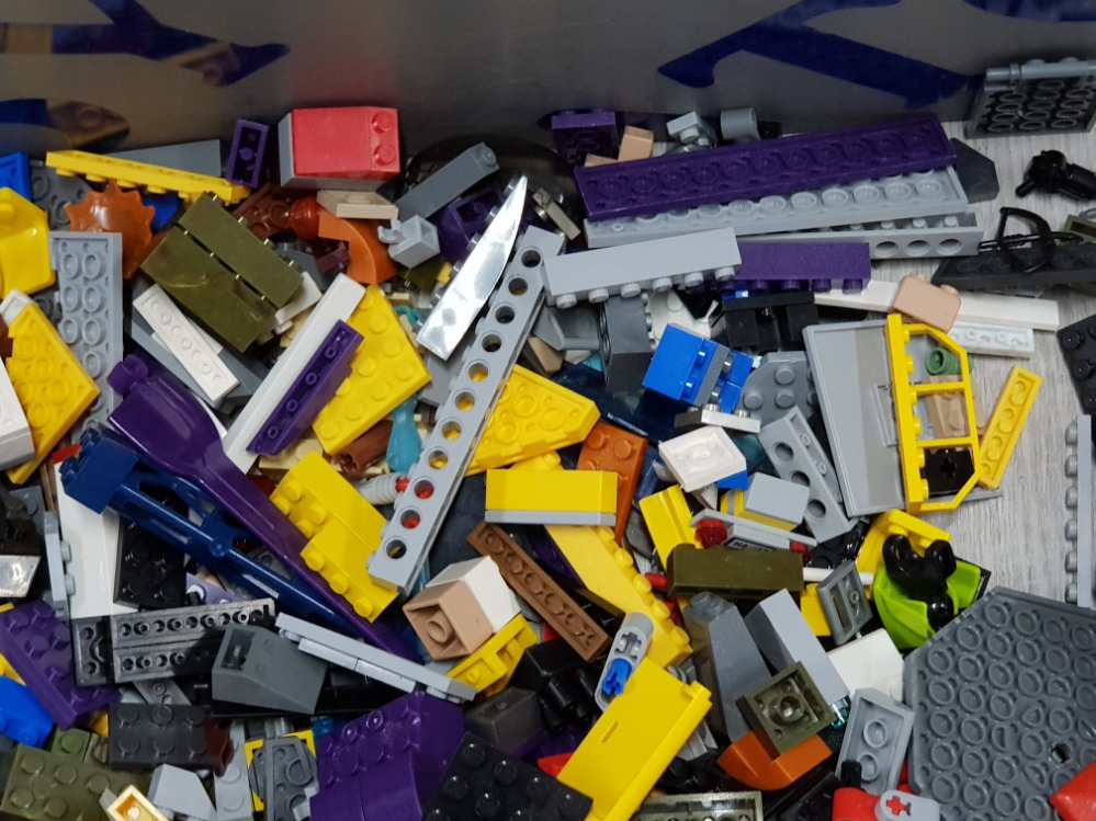 1 KG COLLECTION OF LEGO AND MEGA BLOCKS BUILDING CONSTRUCTION SET - Image 3 of 4