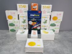 Startastic themed motion projector together with 16 lights includes sun lights rabbit lights cloud