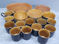 Large quantity of intone myott part dinner tea and coffee service