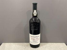 Bottle of 2004 Taylor's vintage port
