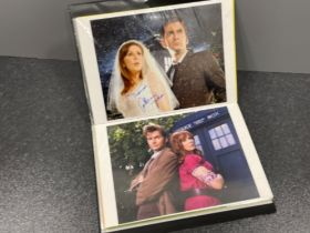 Autographs Dr who, eastenders and holby city (23)