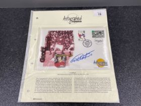Football 1966 World Cup commemorative cover signed by Geoff hurst