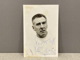 Autograph British criminal Reg Kray signed photograph