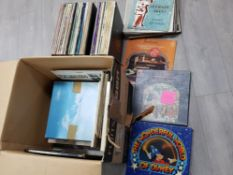Large Quantity of LP records mainly classical and musicals includes Beethoven, The wonderful world