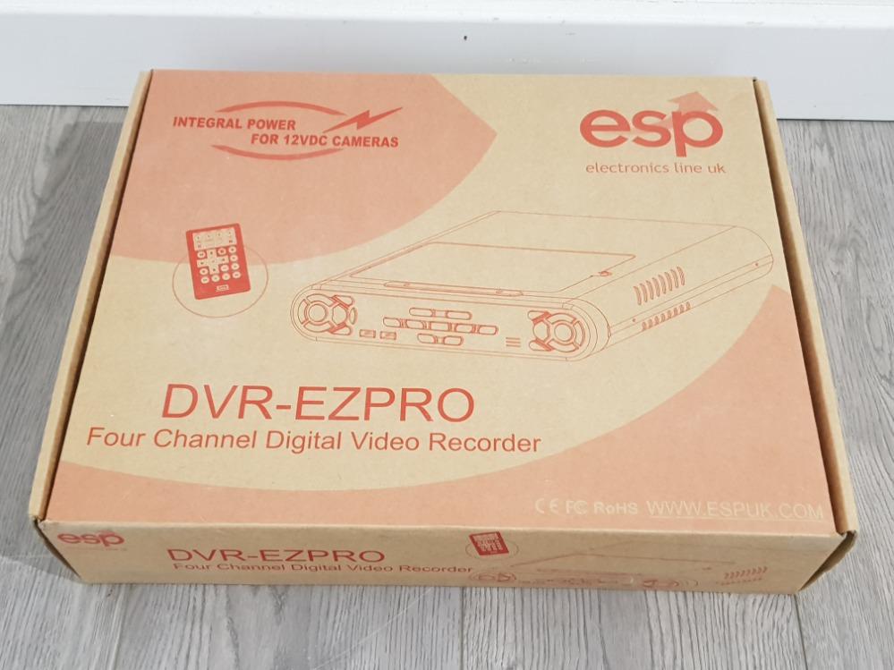 An ESP four channel digital video recorder DVR-EZPRO