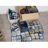 Huge collection of Star Trek items including a variety of boxed starships, Magazines and a