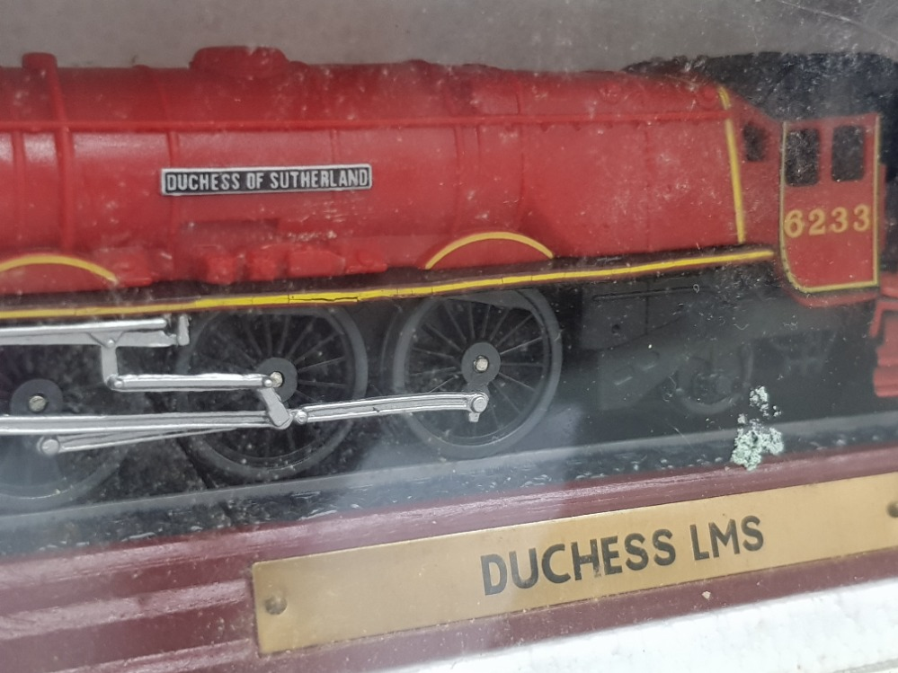 2 model Train engines includes the Duchess LMS and Pacific Chapelon Nord both in original protective - Image 2 of 3