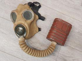 British WW2 gas mask