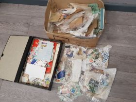 Box containing a large Quantity of mixed loose stamps