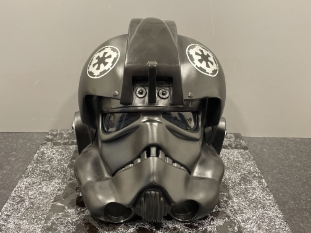 "Star Wars ""Tie Fighter"" Pilot Helmet (Full size)"