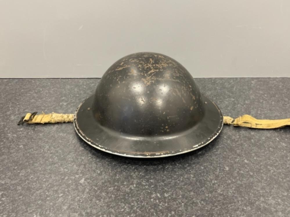WWII British home front Wardens helmet