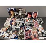 Autographs - Comedy selection of signed postcard photos. Over 40 including Norman Wisdom, Stephen