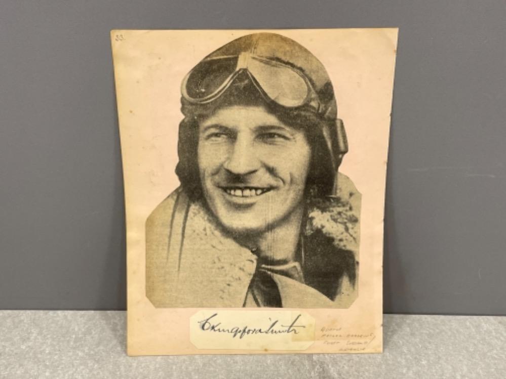 Autograph - Charles Kingsford Smith (1897-1935) Australian Aviator
