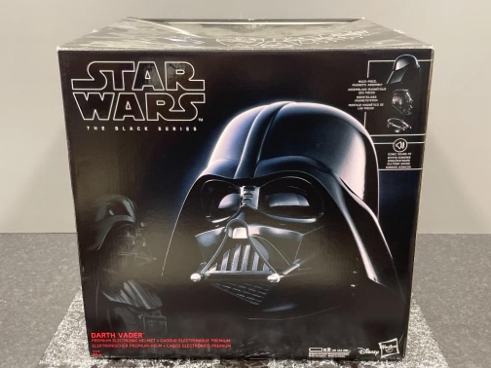 "Star Wars Black Series ""Darth Vader"" Helmet (Full size) in original box - Image 4 of 4"