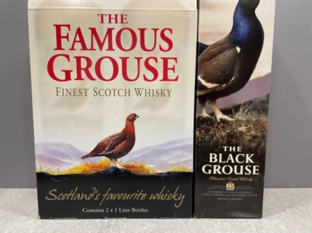 The Famous grouse scotch whisky and also the Black grouse smoky scotch whisky (Unopened) in origi - Image 2 of 3