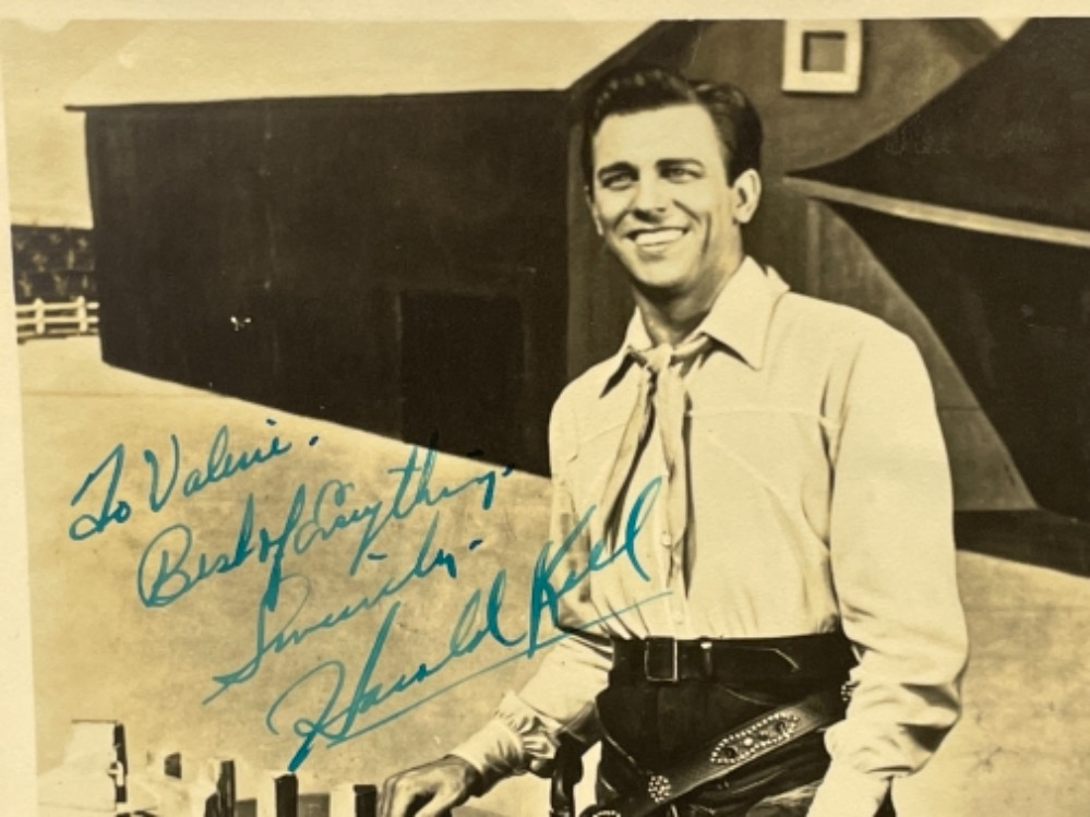 Autograph - Howard Keel (1919-2004) American actor and singer - Image 2 of 2