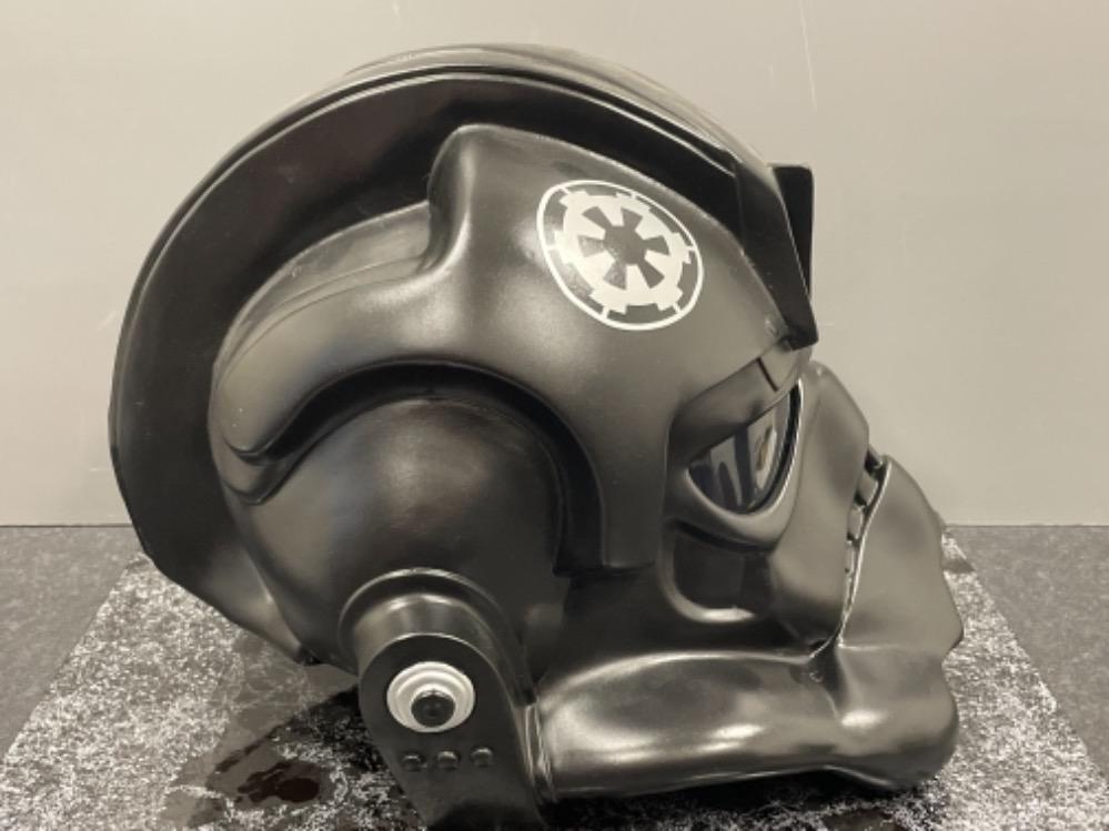 "Star Wars ""Tie Fighter"" Pilot Helmet (Full size) - Image 2 of 3"