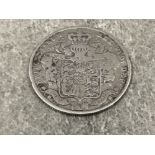 Coins George IV silver half crown dated 1825