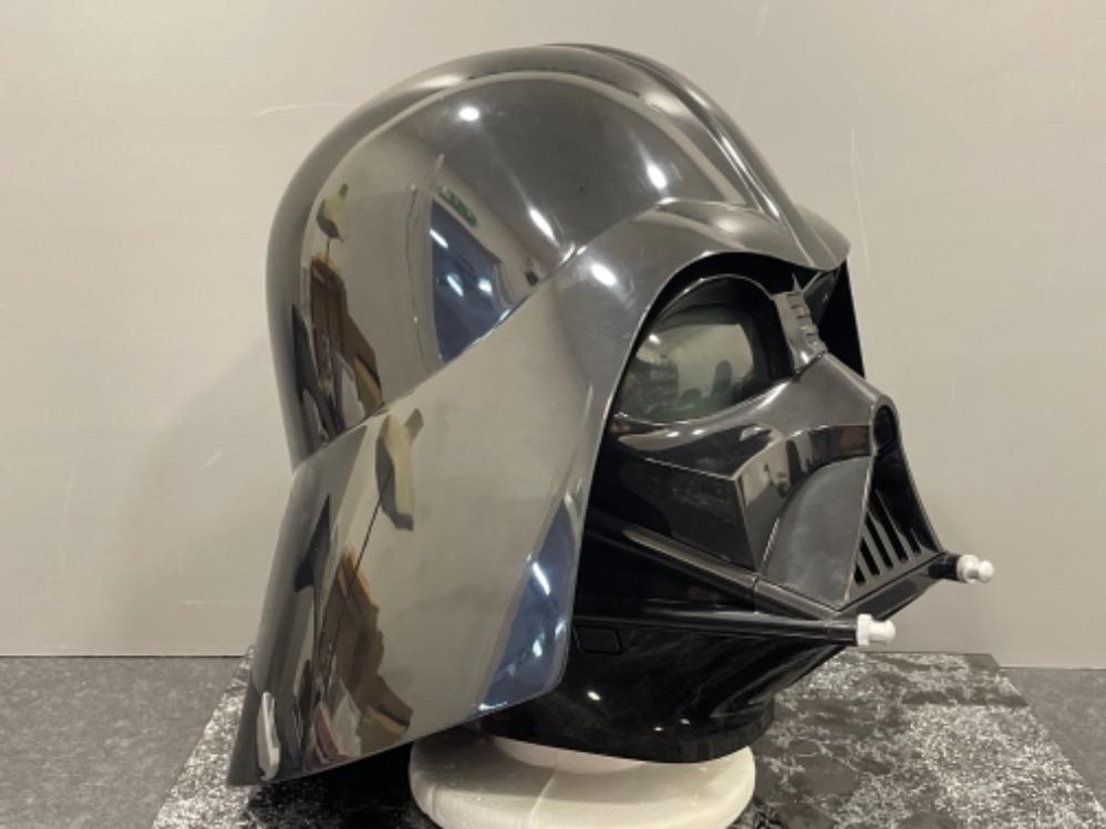 "Star Wars Black Series ""Darth Vader"" Helmet (Full size) in original box - Image 2 of 4"