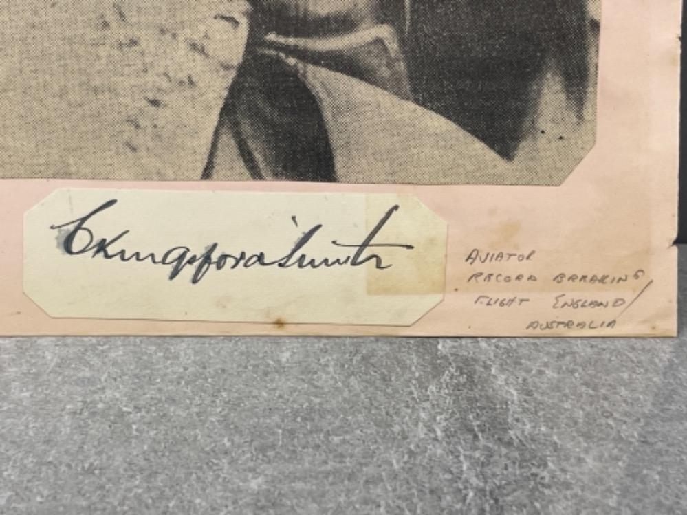 Autograph - Charles Kingsford Smith (1897-1935) Australian Aviator - Image 2 of 2