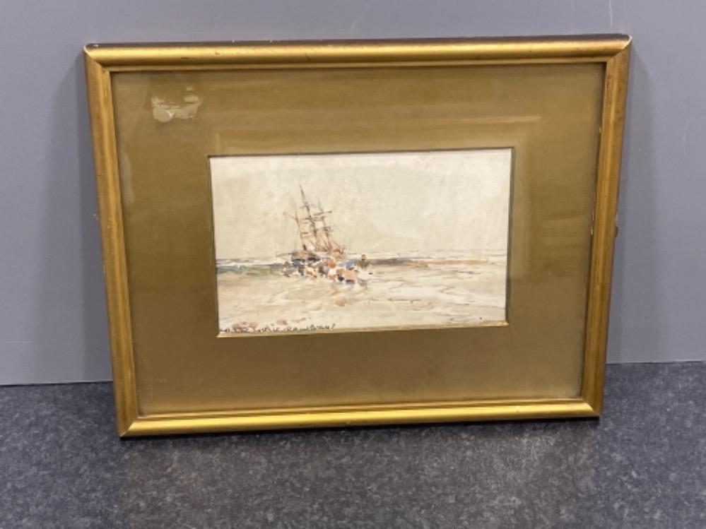 Victor Noble Rainbird 1887-1936 watercolour costal scene