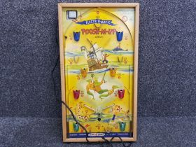 Northwestern products model 470, vintage electronic bagatelle game Electr-o-matic poosh-M-up