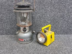Coleman unleaded 295 lamp and also a torch