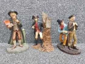 Royal Doulton x3 figures including Oliver twist