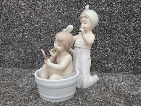 """Lladro 6457 """"Bathing Beauties"""" in good condition"""