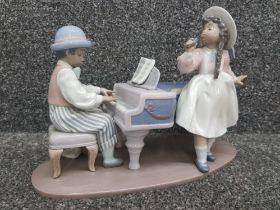 """Lladro 5930 """"Jazz Duo"""" in good condition"""