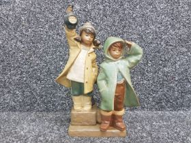 """Lladro gres 2173 """"ahoy there"""" in good condition"""