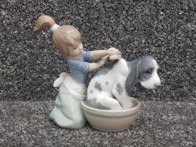 "Lladro 5455 ""Bashful bather"" in good condition"