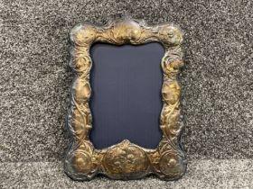 Hallmarked Silver cherb picture frame