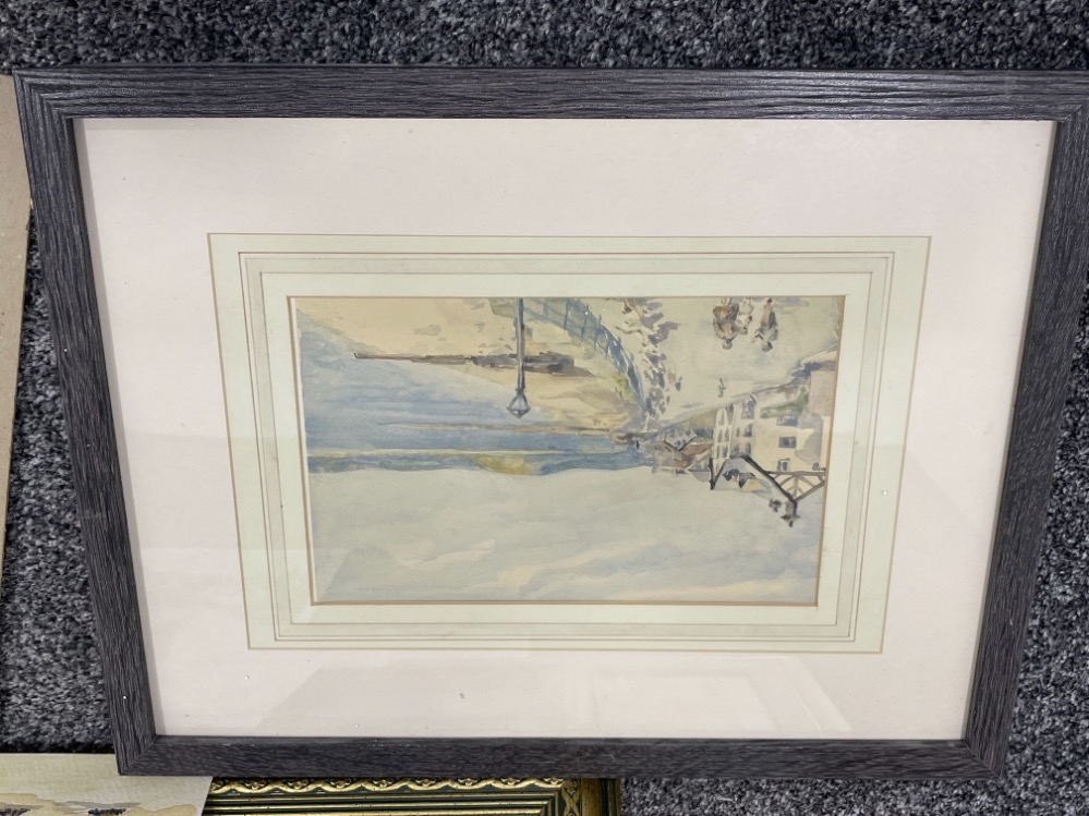 Portfolio of watercolours dating from 1927 - Image 3 of 4