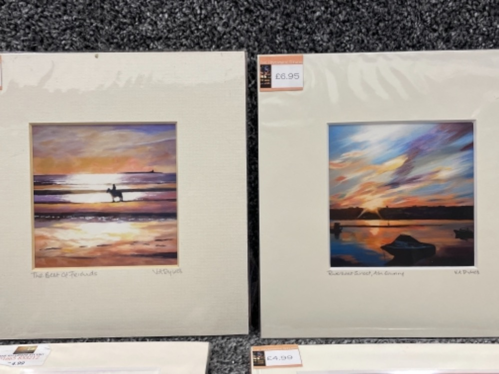 Vivienne Ann Dykes signed prints unopened of local interests - Image 2 of 3