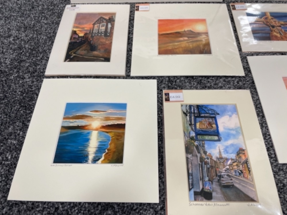 Vivienne Ann Dykes signed limited edition prints (10) - Image 2 of 5