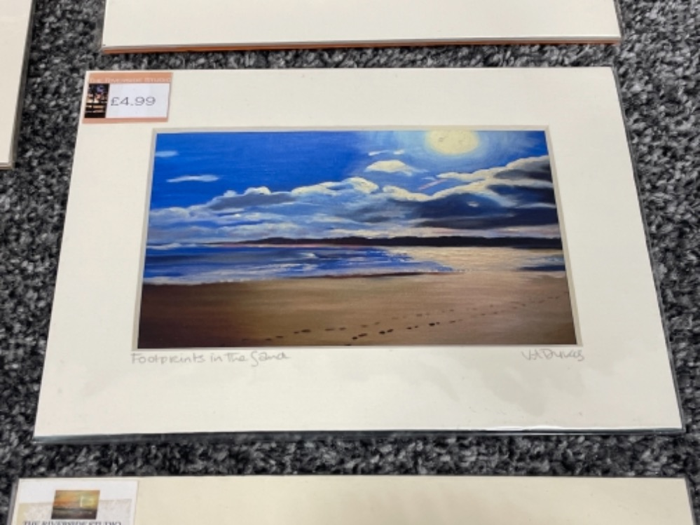 Vivienne Ann Dykes signed prints unopened of local interests - Image 3 of 3